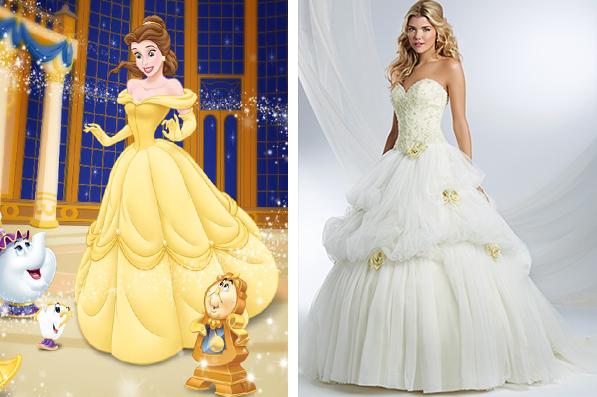 conoce los vestidos de novia inspirados en las princesas de disney